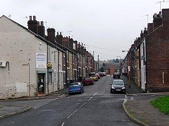 Masbrough - Avondale Street and adjoining streets