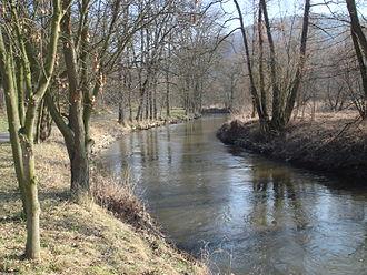 Bílina (river) - Bílina near Stadice