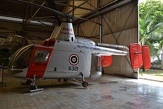 Kaman HH-43 Huskie - A Thai Kaman HH.34B at the Royal Thai Air Force Museum (2014)