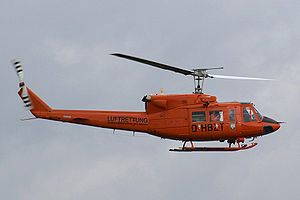 Bell 212 - German Bell 212 used as air ambulance by the Ministry of the Interior.