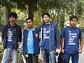 BNWIKI10-Mozillians-Wikipedia 10th Anniversary Celebration.jpg