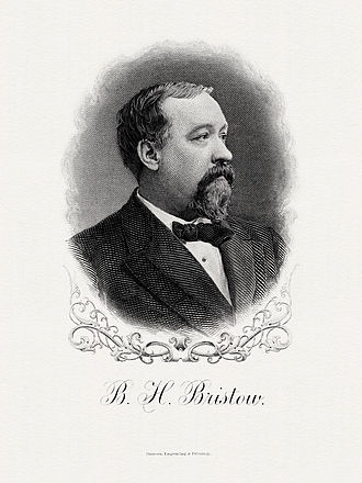 Benjamin Bristow - Benjamin Bristow Secretary of Treasury Bureau of Engraving and Printing