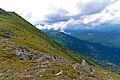 Babia Góra – widok spod Diablaka w kierunku wschodnim.jpg