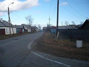 Babushkin (town) - A street in Babushkin