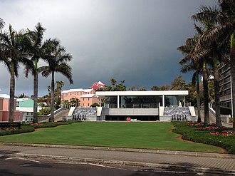 Bacardi - Bacardi Building, Bermuda. Location of Bacardi's world headquarters
