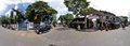Baghbazar Street and Kaliprasad Chakraborty Street Junction - Girish Mancha and Gaudiya Math Area - 360 Degree Equirectangular View - Kolkata 2015-09-14 3606-3612.tif