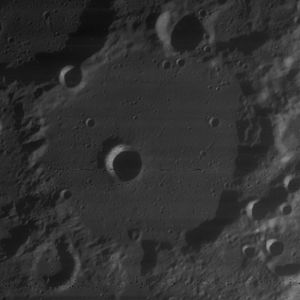 Baillaud (crater) - Image: Baillaud crater 4080 h 2