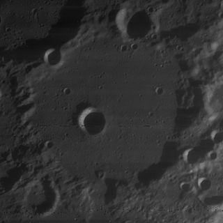 Baillaud (crater) impact crater