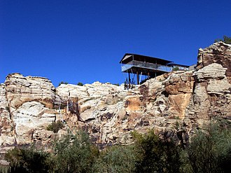 National Register of Historic Places listings in Navajo County, Arizona - Image: Baird's Chevelon Steps