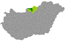 magyarország térkép balassagyarmat Balassagyarmati járás – Wikipédia magyarország térkép balassagyarmat