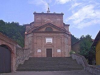 Baldissero Canavese - Parish church.