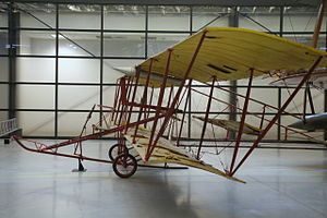 Thomas Scott Baldwin - Baldwin's Red Devil, located at the Steven F. Udvar-Hazy Center