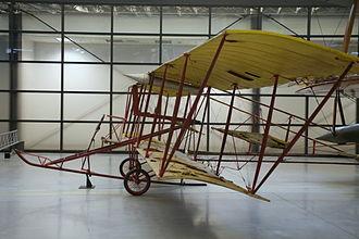Tony Jannus - ''Red Devil'', flown by Jannus in 1913, at the Udvar-Hazy Center