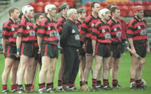 Ballygunner GAA - Ballygunner players before the 2001 Munster Club Hurling Final