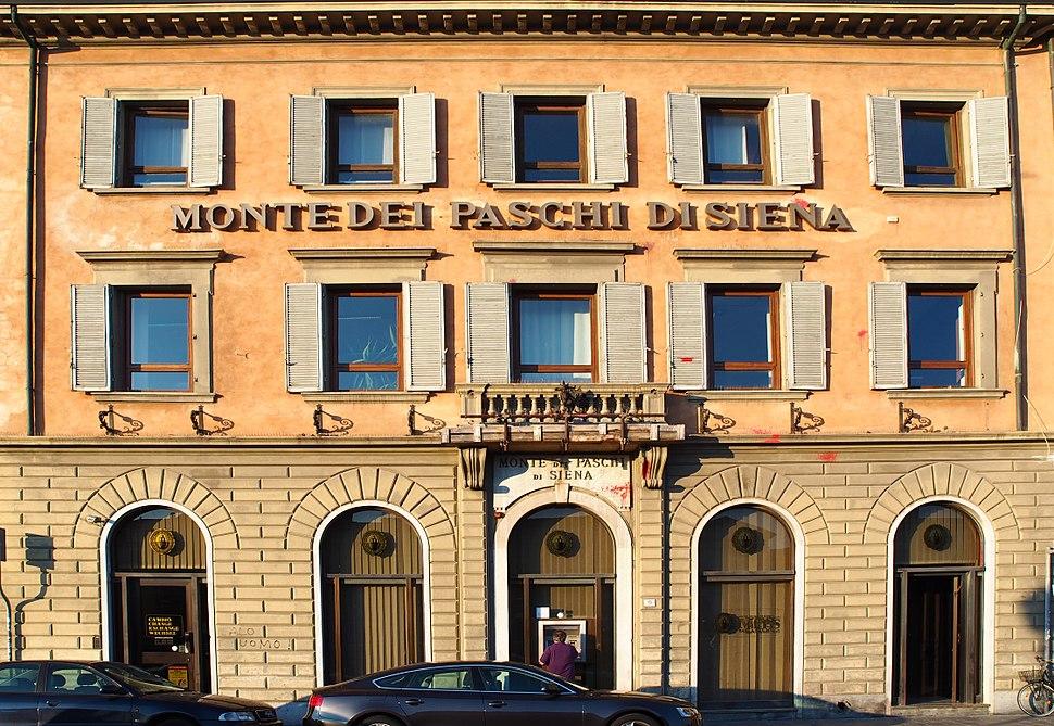 Banca Monte dei Paschi di Siena in Pisa