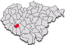 Commune Bănişor in Sălaj County