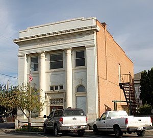 National Register of Historic Places listings in Umatilla County, Oregon - Image: Bank of Echo Echo Historical Museum Echo Oregon