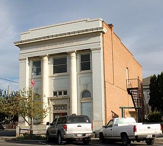 National Register of Historic Places listings in Umatilla County, Oregon - Image: Bank of Echo Echo Historical Museum Echo Oregon
