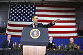 Barack Obama speaks at Camp Lejeune 2-27-09 2.JPG