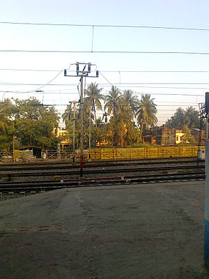 Barasat Junction railway station - Image: Barasat Metro