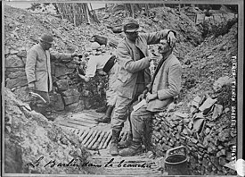 Trench warfare - Wikipedia