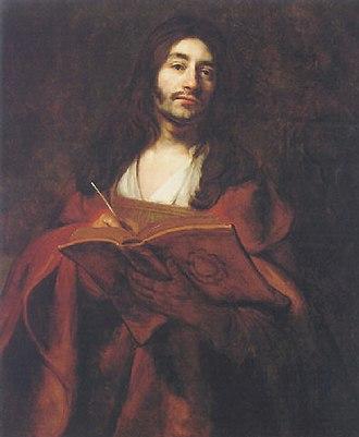 Barent Fabritius - Self-portrait as St. John the Evangelist