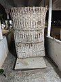Barn made of bamboo shoots called gaade or botta in Telugu.jpg
