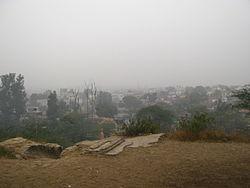 लाक्षागृह टीले से बरनावे का दृश्य