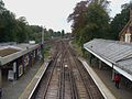 Barnes station high westbound.JPG