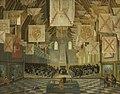 Bartholomeus van Bassen - De Ridderzaal op het Binnenhof tijdens de Grote Vergadering van 1651 - 26 - Mauritshuis.jpg