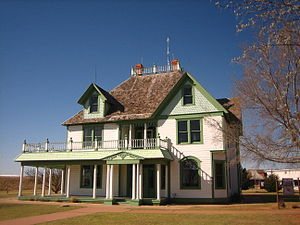 National Ranching Heritage Center - Image: Barton House in Lubbock, TX IMG 0052