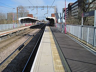 Basildon railway station Railway station in Essex, England