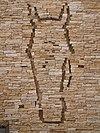 Bas-reliéf s motivem koňské hlavy