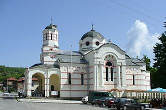 Pazardzhik Province - A church in Batak.