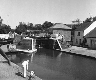Batchworth - Image: Batchworth Lock No 81, Grand Union Canal geograph.org.uk 1505248