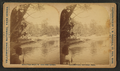 Bath Lake and Bathers, by Ingersoll, T. W. (Truman Ward), 1862-1922.png