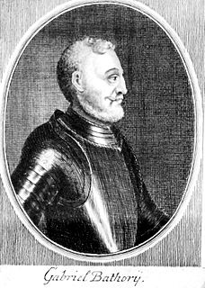 Gabriel Báthory Prince of Transylvania