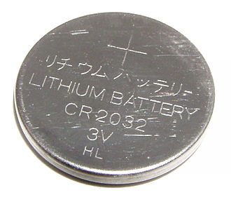 Lithium battery - CR2032 lithium button cell battery