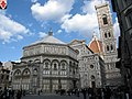 Battistero, kampanile & Duomo, Florence, Tuscany, Italy - panoramio.jpg