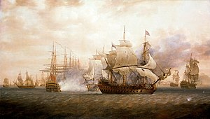1782 in France - Battle of Saint Kitts