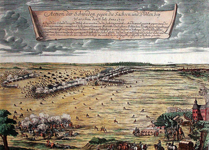 Battle of Warsaw (1705) - Image: Battle of Warsaw 1705