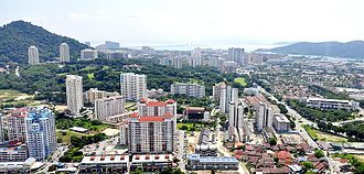 Bayan Lepas - New residential neighbourhoods like Bayan Baru, pictured here, were built after the creation of the Free Industrial Zone.