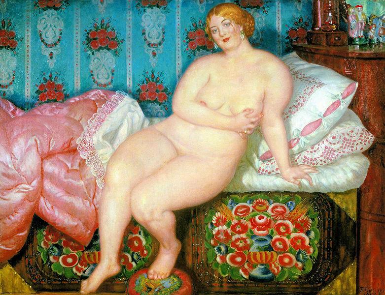 Ficheiro:Beauty. Kustodiev. 1915.jpg