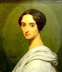 Beauvais (60), MUDO, Ary Scheffer - portrait de la comtesse de Gobineau, 1850.JPG