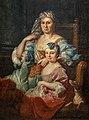 Beaux-Arts de Carcassonne - Portrait de Madame Poulhariez et de sa fille Anne - Pierre Hubert Subleyras 128x96 Joconde04400000567.jpg