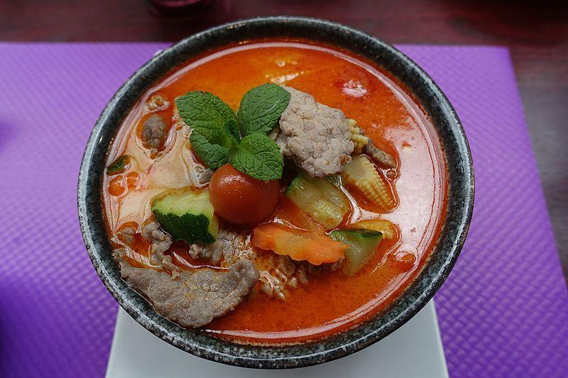 File:Beef massaman curry, Saveurs d'Asie, Rue de Vouillé, Paris 002.jpg