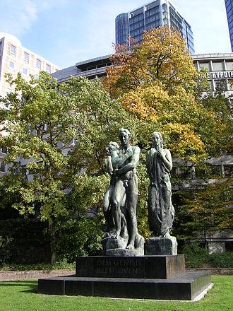 Georg Kolbe - Image: Beethoven Denkmal, Frankfurt