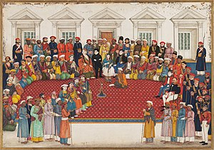 Begum Samru - Begum Samru's Household