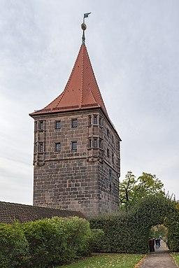 Beim Tiergärtnertor 4, von Osten Nürnberg 20191020 002