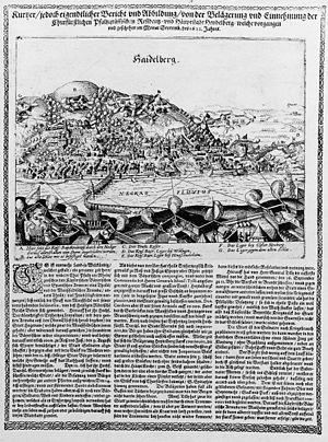 Belagerung Heidelbergs C-L 205